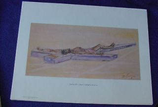 1964 DeGrazia Way Cross Station 11 Print Jesus Nailed