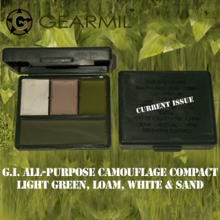 Face Paint Compact G.I. All Purpose Camouflage