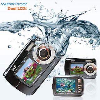 Max. UnderWater Digital Camera + Video w/ Dual LCDs Screen   BRAND NEW