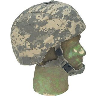 Integrated Comms Helmet Cover   Rip Stop ACU Army Digital Camouflage