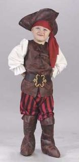 PIRATE boys toddler kids halloween costume 3T 4T L