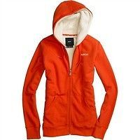 2013 Burton Monarch SHERPA Hoody fleece full zip Womens EXTRA LARGE