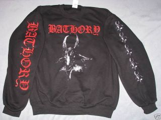 bathory sweat shirt jacket black metal death mutiilator deathspell