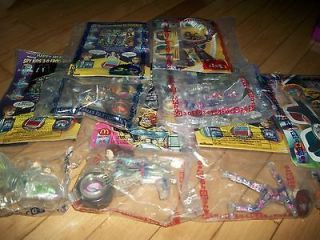 NEW NIP 6 SPY KIDS 3D MC DONALDS TOYS MINT UNOPENED GLASSES COMICS