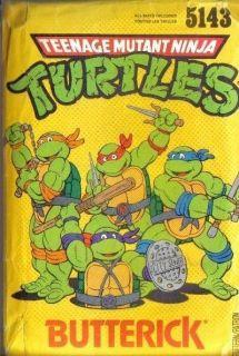 Mutant Ninja Turtles TMNT Costume Sewing Pattern Butterick 5143