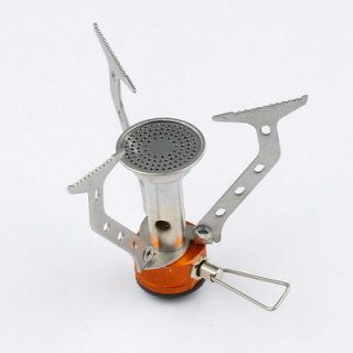 Portable Outdoor Camping Gas Furnace Stove Head BBQ with Black Bag