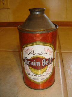 Grain Belt The Friendly Beer 4% Alcohol Empty Cone Top Beer Can