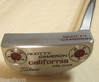 Scotty Cameron California Del Mar 34.00 Putter Midsize Baby t Winn