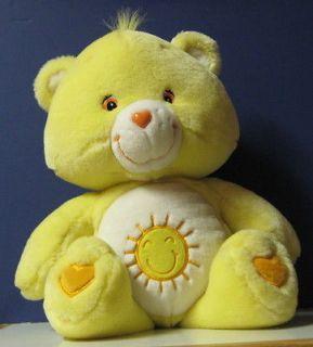 Care Bears Large Plush Funshine Bear   20 Giant   2003 Play Along