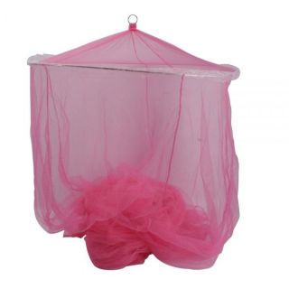 Hot Pink PRINCESS Girls BED CANOPY Mosquito Net Netting Bedroom Bed