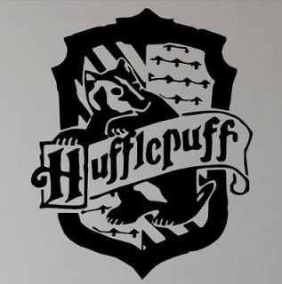 Harry Potter Hufflepuff decal  House Hufflepuff crest removable wall