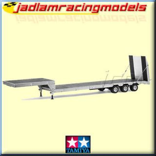 CARSON Flat bed Carrier Trailer with Ramp 3 Axles C907000 for Tamiya