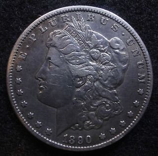 Newly listed 1890 CC Morgan Silver Dollar (Carson City)