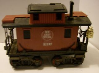 Jim Beam Train Red Caboose Car Decanter by Regal China 1980