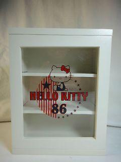 Hello Kitty Sanrio Rare White Organizer Cupboard drawer Shelf