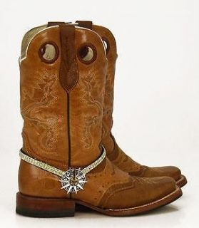 AB RHINESTONE SPUR ROWEL BOOT JEWELRY BY HILL COUNTRY GIRLS NWT