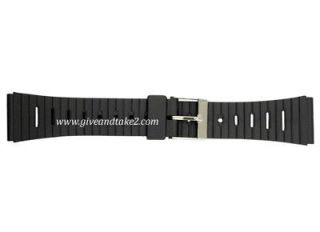 Casio Style Water Proof PVC Watch Strap 20mm (P50)