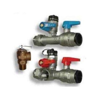 Noritz Isolator Valve Kit with Pressure Relief Valve IK WV 8 TH LF