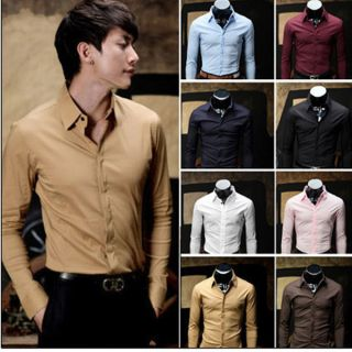 mens clothing in Casual Shirts