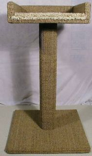 NATURAL SISAL SCRATCHING POST THE CATS MEOW EXTRA WIDE