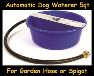 EVERFULL AUTOMATIC DOG & PET WATERER★ DOG PET WATERER BOWL DISH