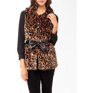 Newly listed FOREVER 21 ANIMAL PRINT LEOPARD CHEETAH VEST