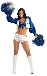 DALLAS COWBOYS CHEERLEADERS SEXY ADULT X_SM Costume NEW
