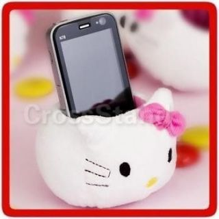 4x HELLO KITTY PLUSH TOY TABLE CELL CELLULAR PHONE HOLDER STAND
