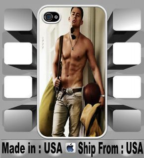 Channing Tatum Magic Mike White iPhone 4 and 4S Case Cover Skin CTM02