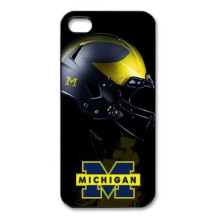 NFL Michigan Wolverines iPhone 5 Case Hard Plastic Cover Phone 001
