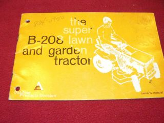 allis chalmers garden tractor in Business & Industrial