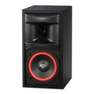Cerwin Vega XLS 6, 6.5 2 way, Bookshelf Speaker,each Brand New; Crisp