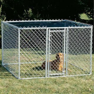 K9 Dog Kennel Outdoor Chain Link Kennel Exercise Pen 6x6x4 Midwest