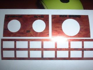 CB Faceplate Sticker fits RCI 2950