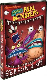 AAAHH REAL MONSTERS COMPLETE SEASON THREE 3 NEW SEALED R1 DVD