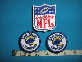 rare SAN DIEGO CHARGERS NFL FOOTBALL HUDDLES Patch