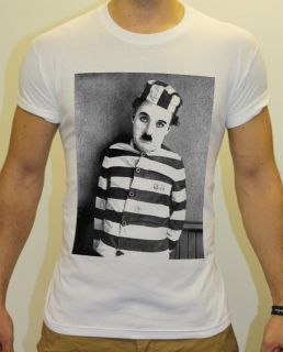 charlie chaplin tshirt in Clothing,