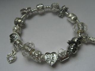 CHILDS CHILDRENS KIDS LADIES BEST FRIEND CHARM BRACELET CHOOSE SIZE