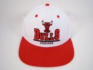 CHICAGO BULLS SNAPBACK HAT WHITE STACKED LOGO DERRICK ROSE JORDAN