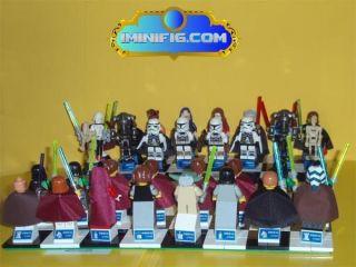 LEGO Custom Star Wars New Trilogy Chess Pieces