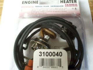 Truck Engine Block Heater,Zerosta rt /Temro, # 3100040,V10,V8 Engines