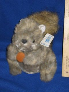 Royal Plush Stuffed Plush 9 SQUIRREL W/Nut   W/Tags