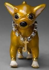 JUICY COUTURE dog CHIHUAHUA rhinestone collar charm NIB
