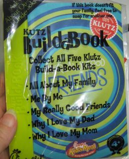 Chick fil A Kids Toy Klutz Build a Book My Really Good Friends By Me