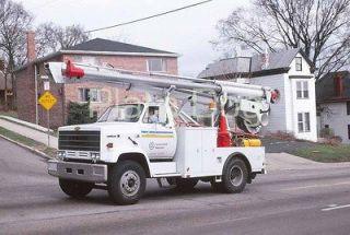 Cincinnati Bell Telephone Chevy Kodiak Utility Truck Street Scene