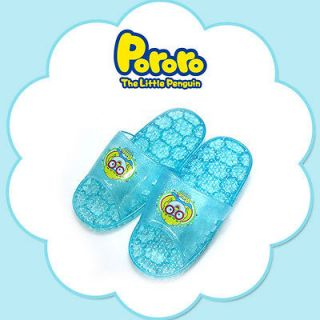 Pororo kids bathroom slippers Blue Made in Korea Korea animation so