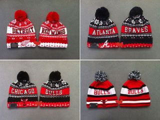 WINGS CHICAGO BULLS Beanies Cotton Stay warm knit caps wool Hats HT0