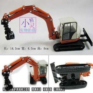 50 alloy truck crane load model toys children birthday gifts 14.5cm