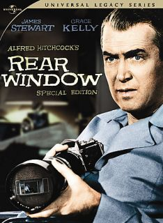 Rear Window Jimmy Stewart 2 DVD Hitchcock Grace Kelly
