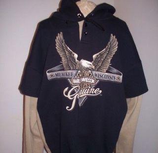 harley davidson hoodie in Mens Clothing